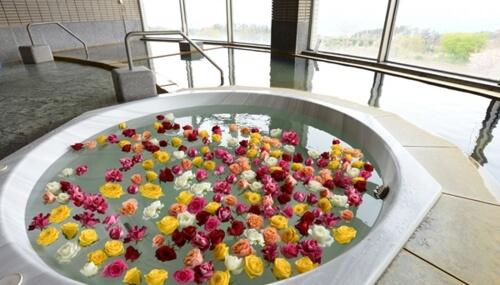 クララ館季節の花の湯