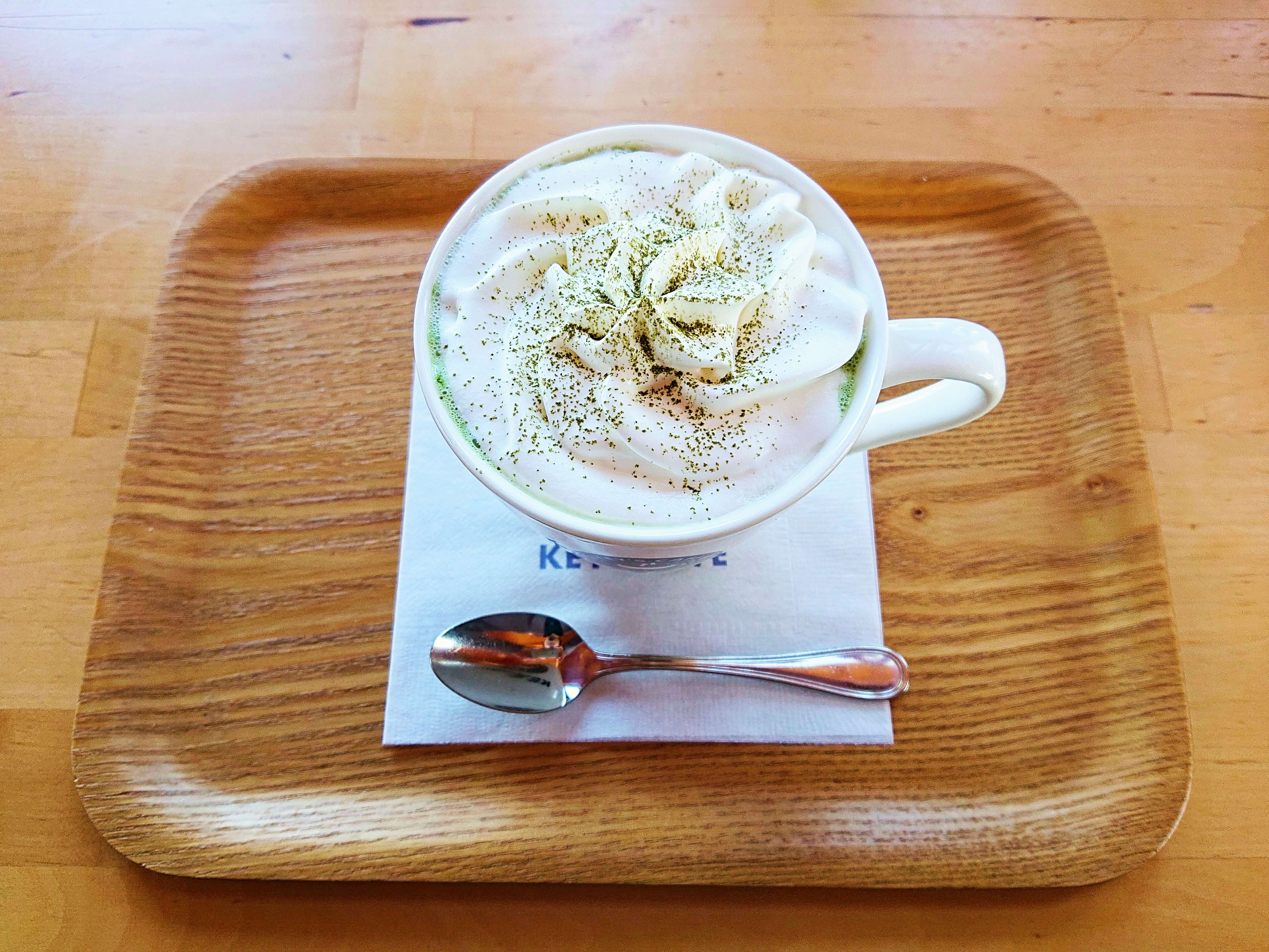 Key's cafe 時夢創屋の抹茶ラテ