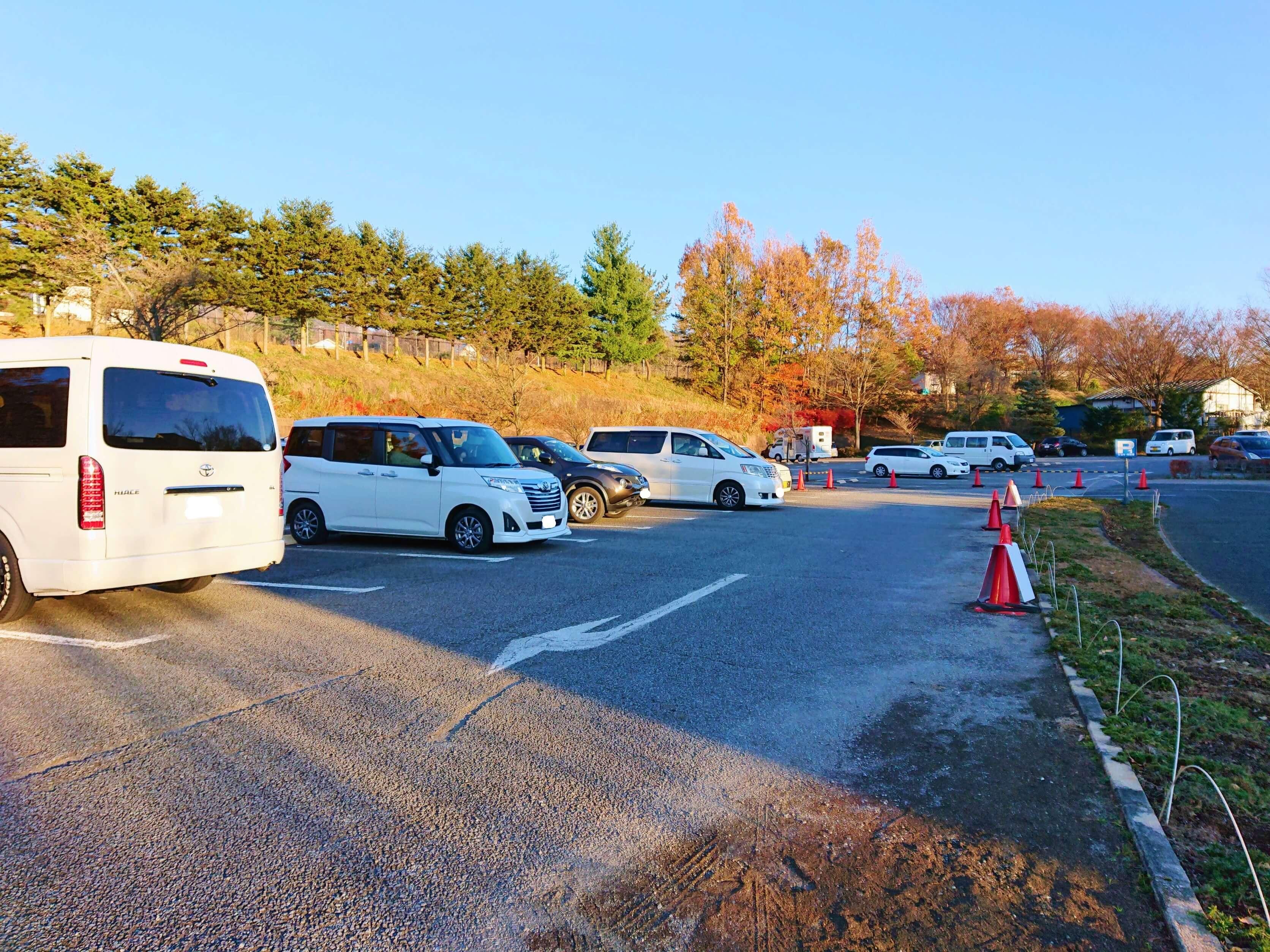 ハイジの村第一駐車場