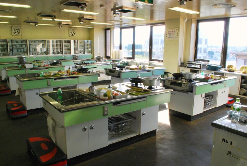 料理教室に使う調理場