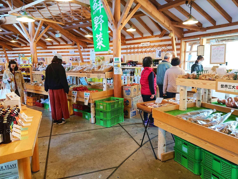農産物の販売所