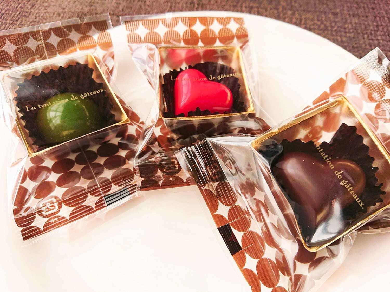 アトリエドゥプレジールのバレンタインチョコ3種