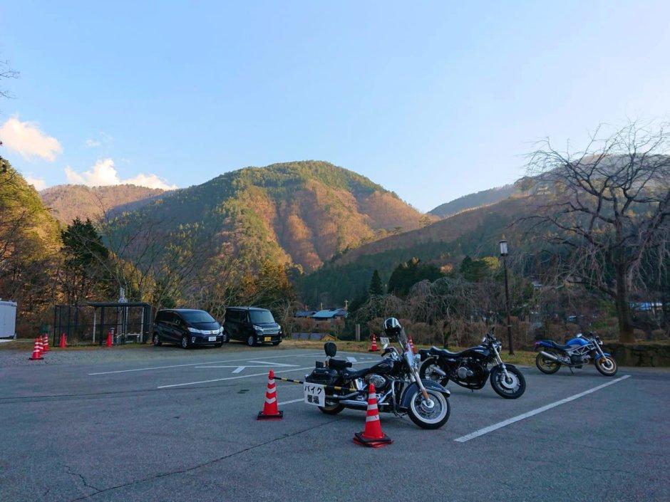 道の駅丹波山からの風景