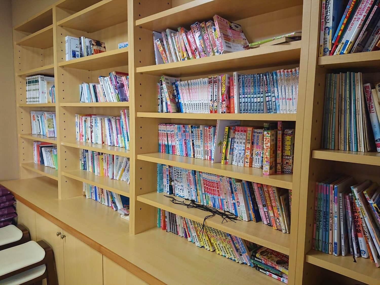 自由に読める本棚