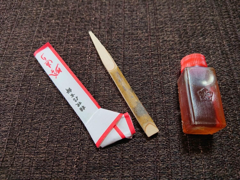 プレミアム桔梗信玄餅の付属品