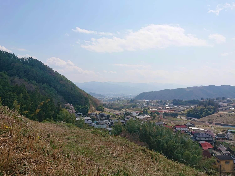 牧丘町の景色