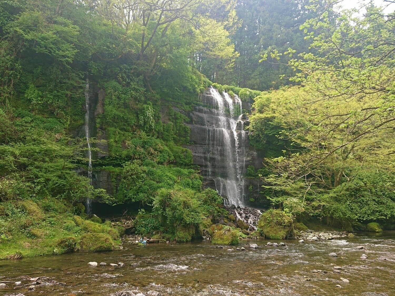 太郎次郎滝の本流