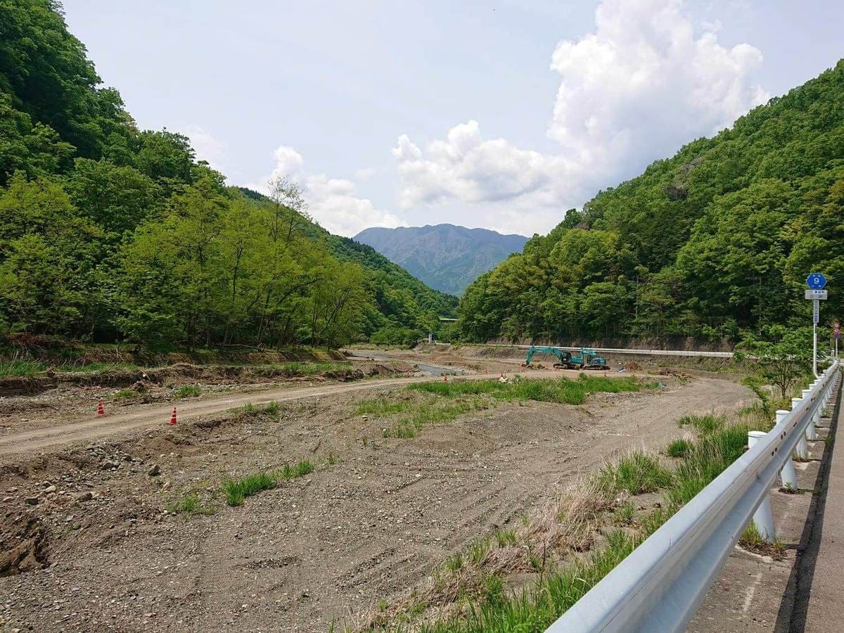 三沢川下流域の様子