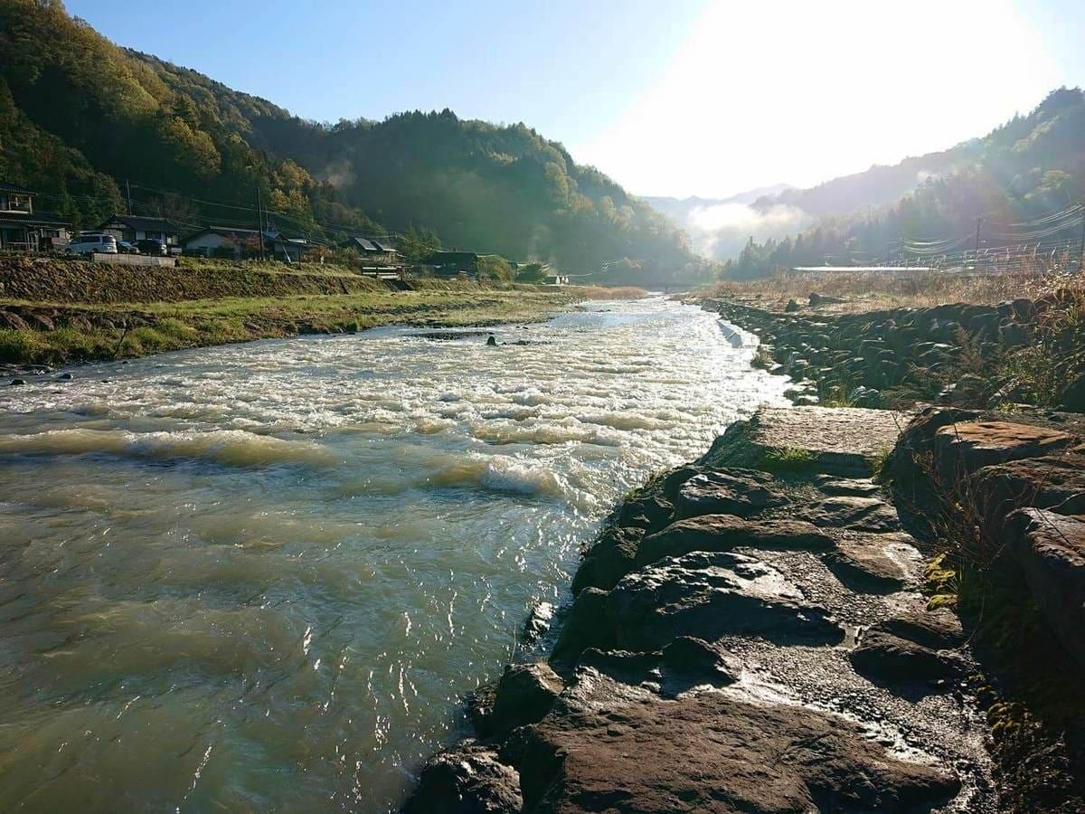 大柳川下流の風景