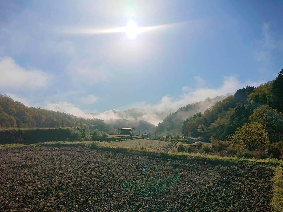 寺沢付近の風景