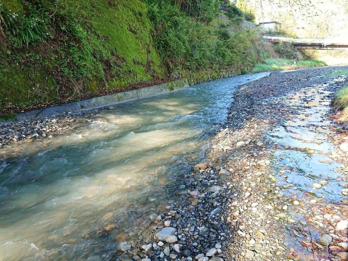 川の水の透明度