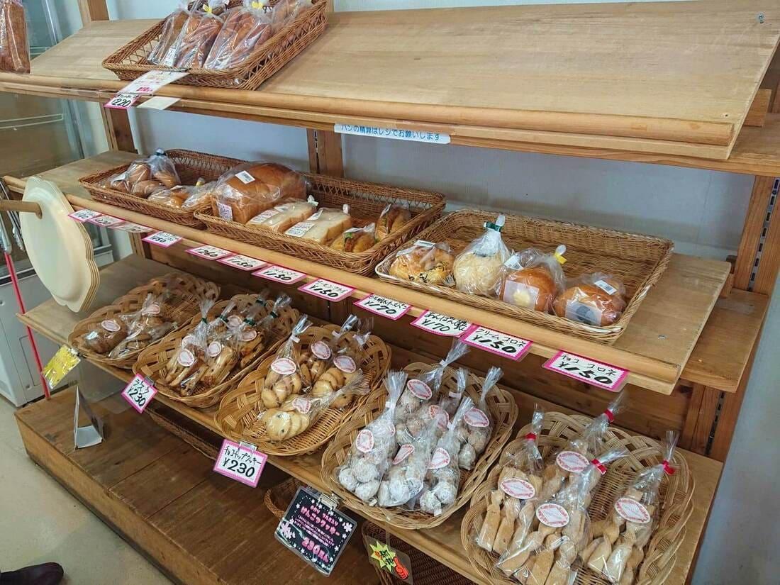 さくら工房の手作りパン