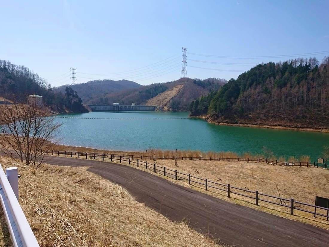 琴川ダム駐車場からの風景