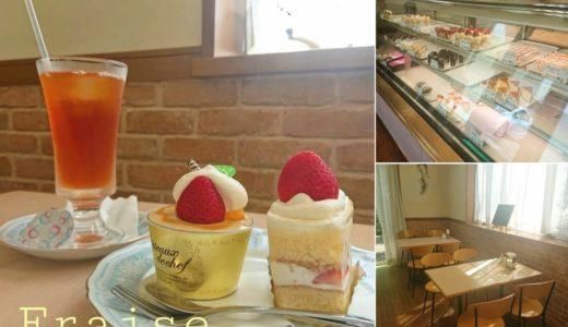 【フレーズ】創業なんと25年。地元民に愛されるケーキ屋さんでティータイム