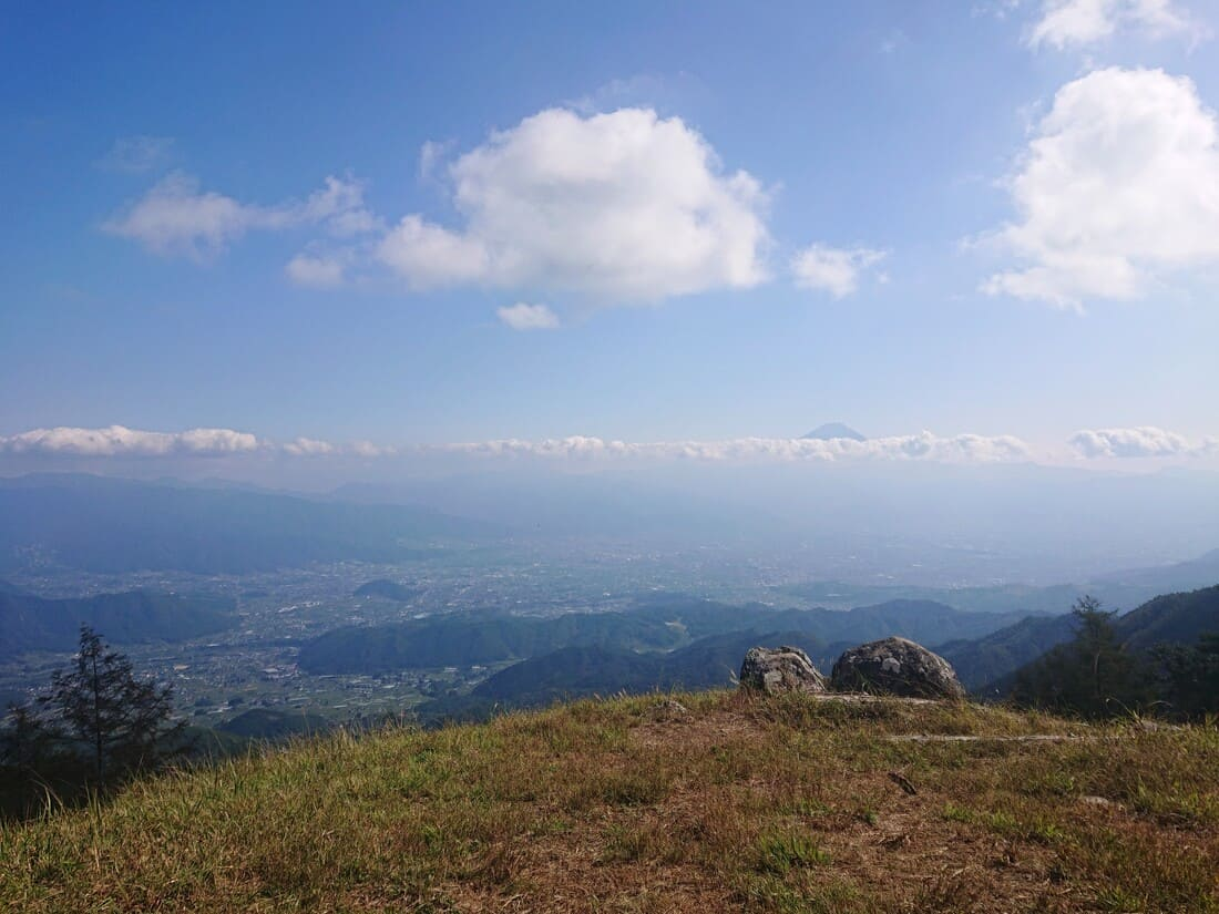 小楢山山頂からの絶景