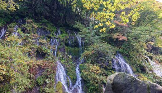 【吐竜の滝】おすすめ訪問時間は人が少ない朝方!マイナスイオンを超えた清涼感で癒される静かな滝
