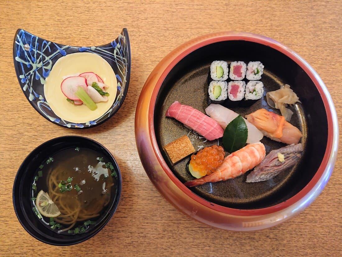 寿司(梅)の内容