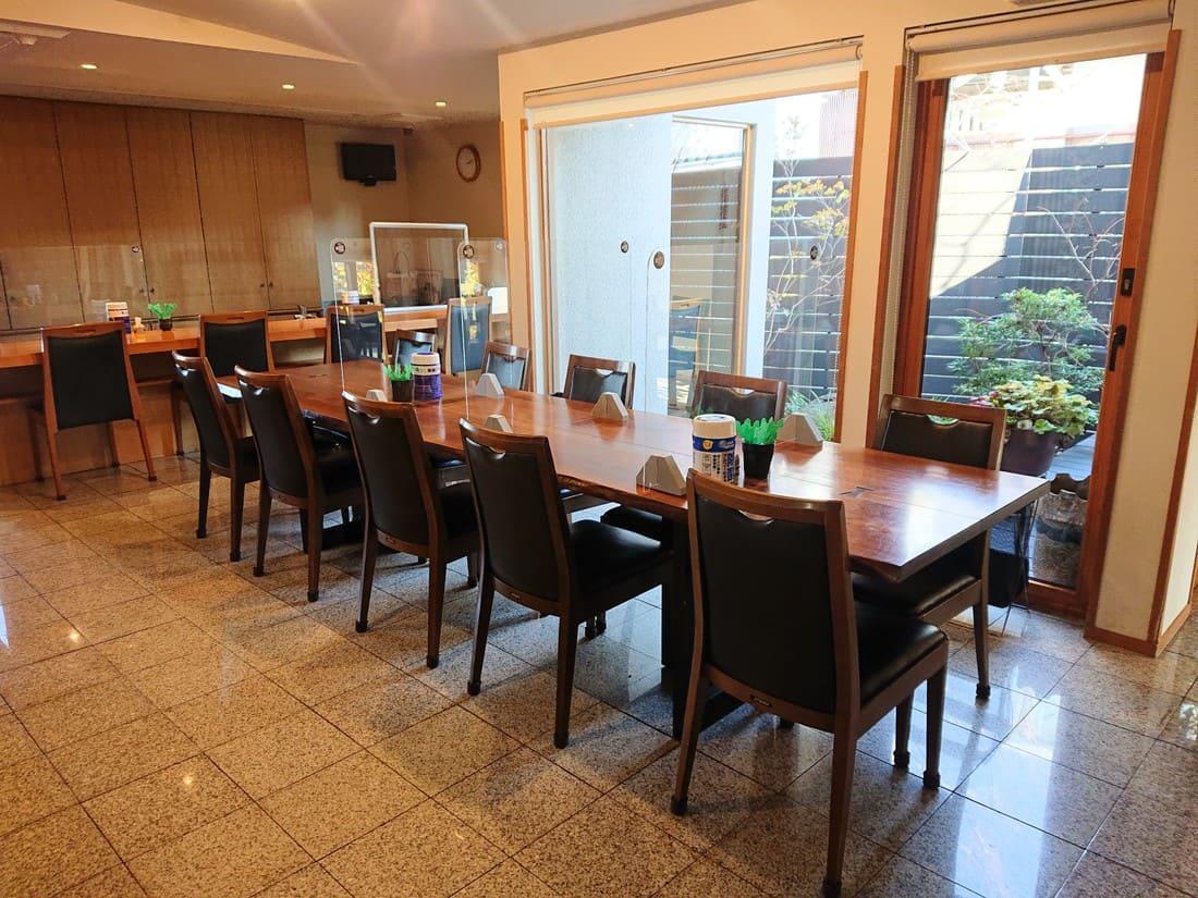 和菜屋 宴の内装
