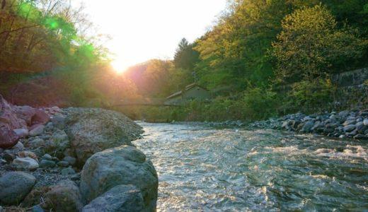 【芦川】全長27kmのロング河川!中上流域がメインの釣り場