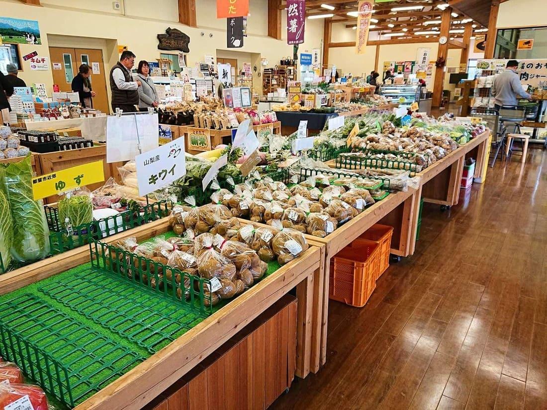 農産物売り場の様子