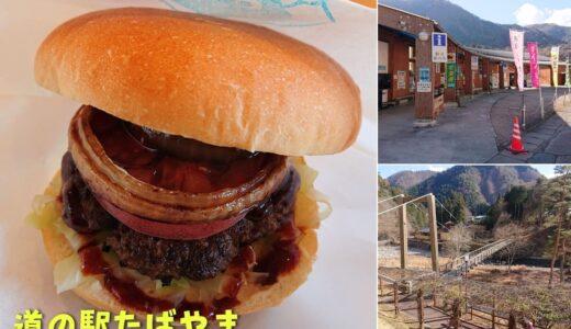 【道の駅たばやま】大自然に囲まれた道の駅!季節限定のソフトクリームと鹿肉グルメを食べに行こう!