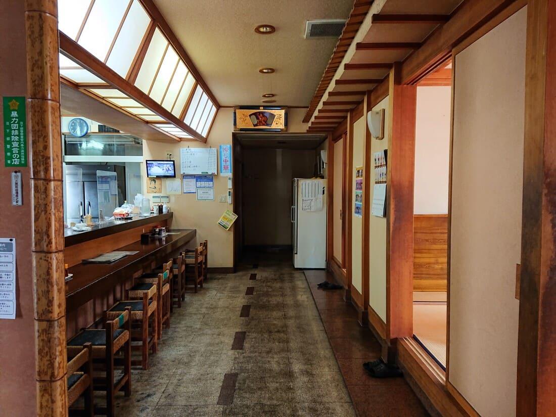 喜楽食堂の内装