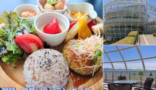 【展望・星屑レストラン ガイア】休日は混雑必至!山梨を存分に味わえるフルーツ公園内の絶景レストラン