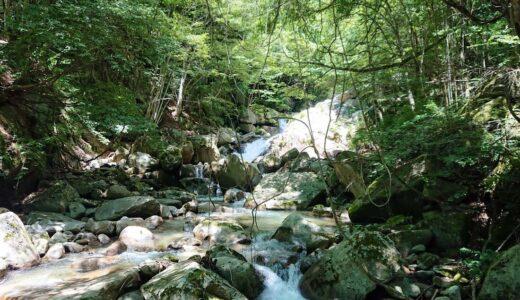 【竜門峡】片道1時間の渓谷ハイキング!お寺も温泉も一緒に楽しめる自然散策スポット